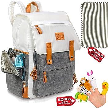 683fafc0324d Amazon.com   Diaper Bag Backpack - Designer Travel Baby Backpack for ...