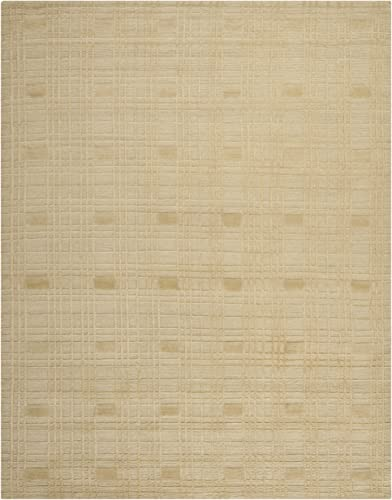 Safavieh Tibetan Collection TB120A Hand-Knotted Sand Wool Area Rug 9' x 12'