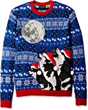 Blizzard Bay Men's Ugly Christmas Sweater Wolf