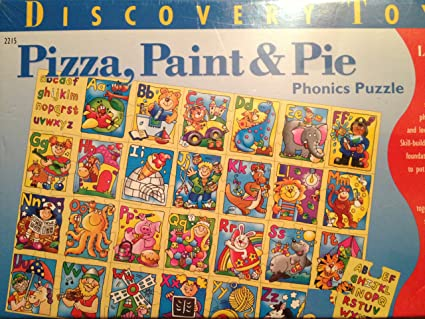 Amazon.com: Discovery Toys Pizza, pintura & pastel ...