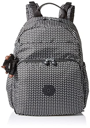 3b53f70af8f1 Amazon.com  Kipling Maisie Printed Diaper Bag Backpack One Size Small Leaf   Clothing