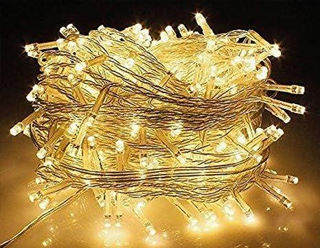 Centraline Per Luci Natalizie.Natale Led Mini Luci 100 Pz Giallo Luce Fredda Centralina