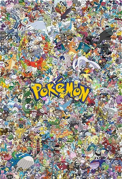 amazon com pokemon poster print 13x19 posters prints