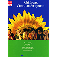 Children's Christian Easy Guitar Songbook (Easy Guitar with Notes & Tab) book cover