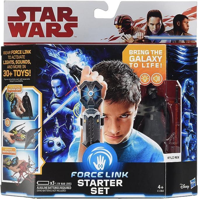 STAR Wars Forza Link Starter Set compreso forza collegamento Figura Hasbro NUOVO ORIGINALE