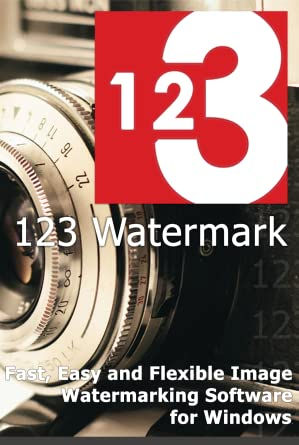 Amazon com: 123 Watermark Image - Fast, Easy and Flexible Image