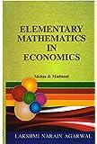 Elementary Mathematics In Economics
