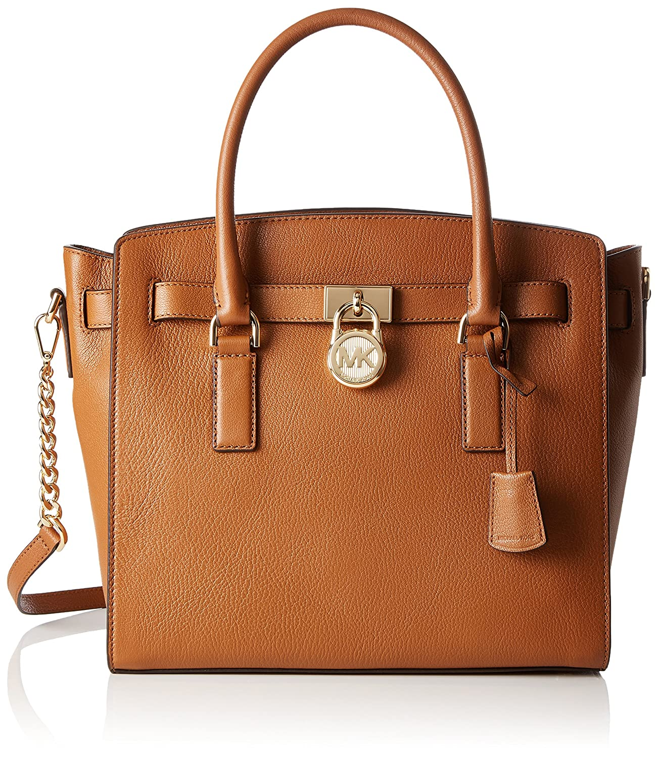 aca07ae53f32 Michael Kors 30S7GHMS7L Womens Hamilton Satchel Brown (Acorn):  Amazon.co.uk: Shoes & Bags