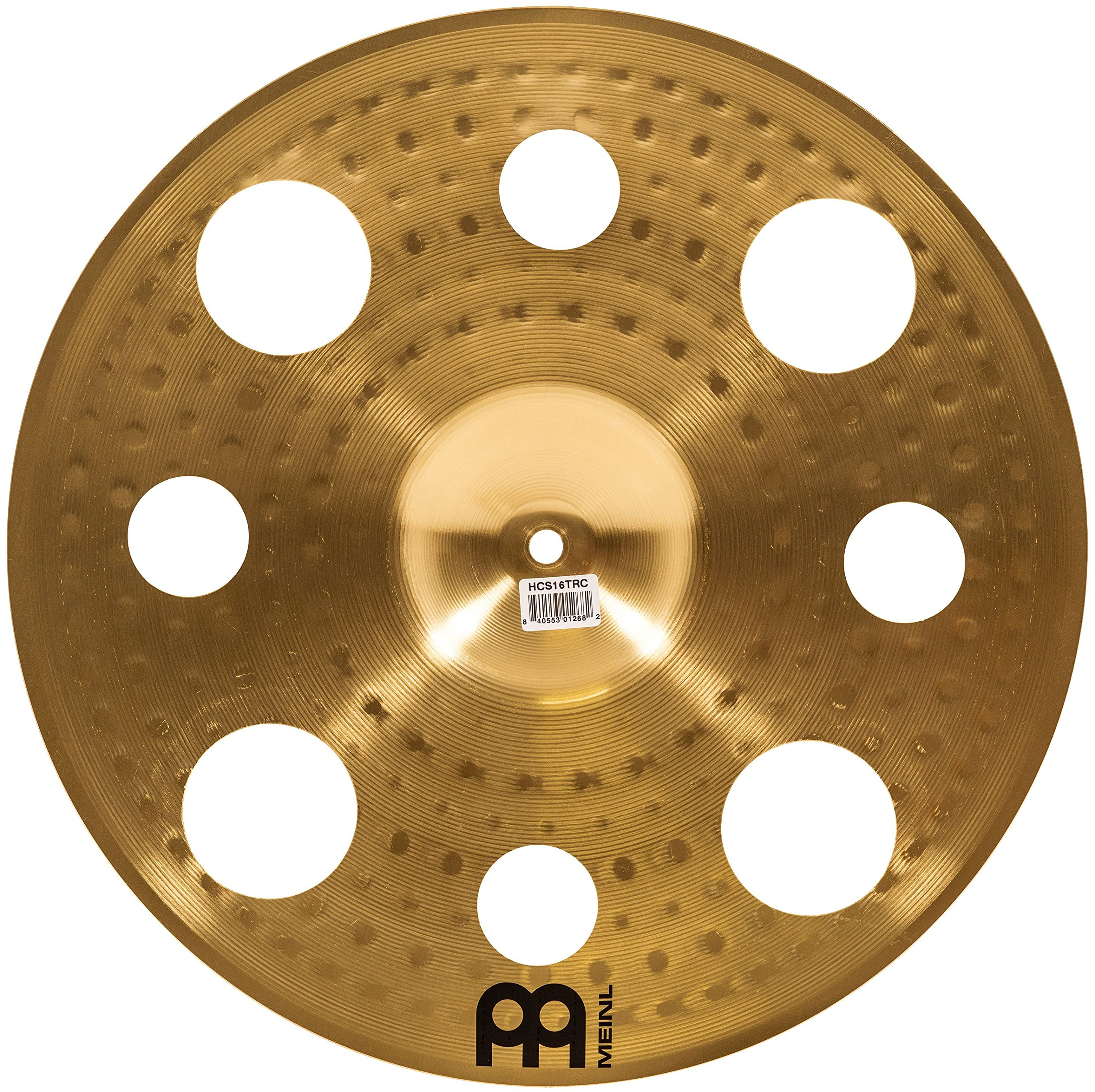 Meinl Cymbals HCS16TRC 16'' HCS Brass Trash Crash Cymbal for Drum Set (VIDEO) by Meinl Cymbals (Image #2)