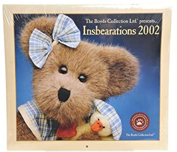 Boyds Insbearations 2002 Calendar Very Collectable Amazoncouk Office Products