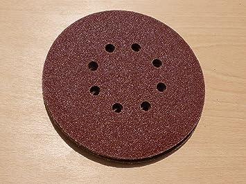 Hook /& Loop Orbit Sander QTY 10-150mm 6 inch Sanding Punched Discs 60 Grit