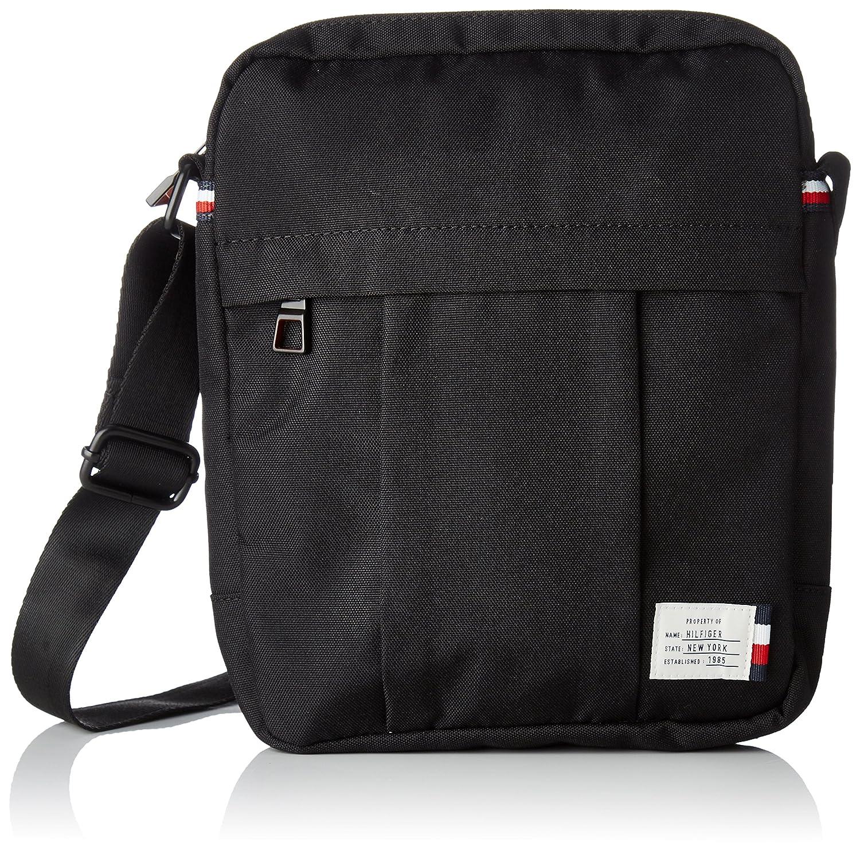 53dd05e18c Amazon.com: Tommy Hilfiger Mens Tommy Slim Reporter Laptop Bag Black  (Black): Shoes