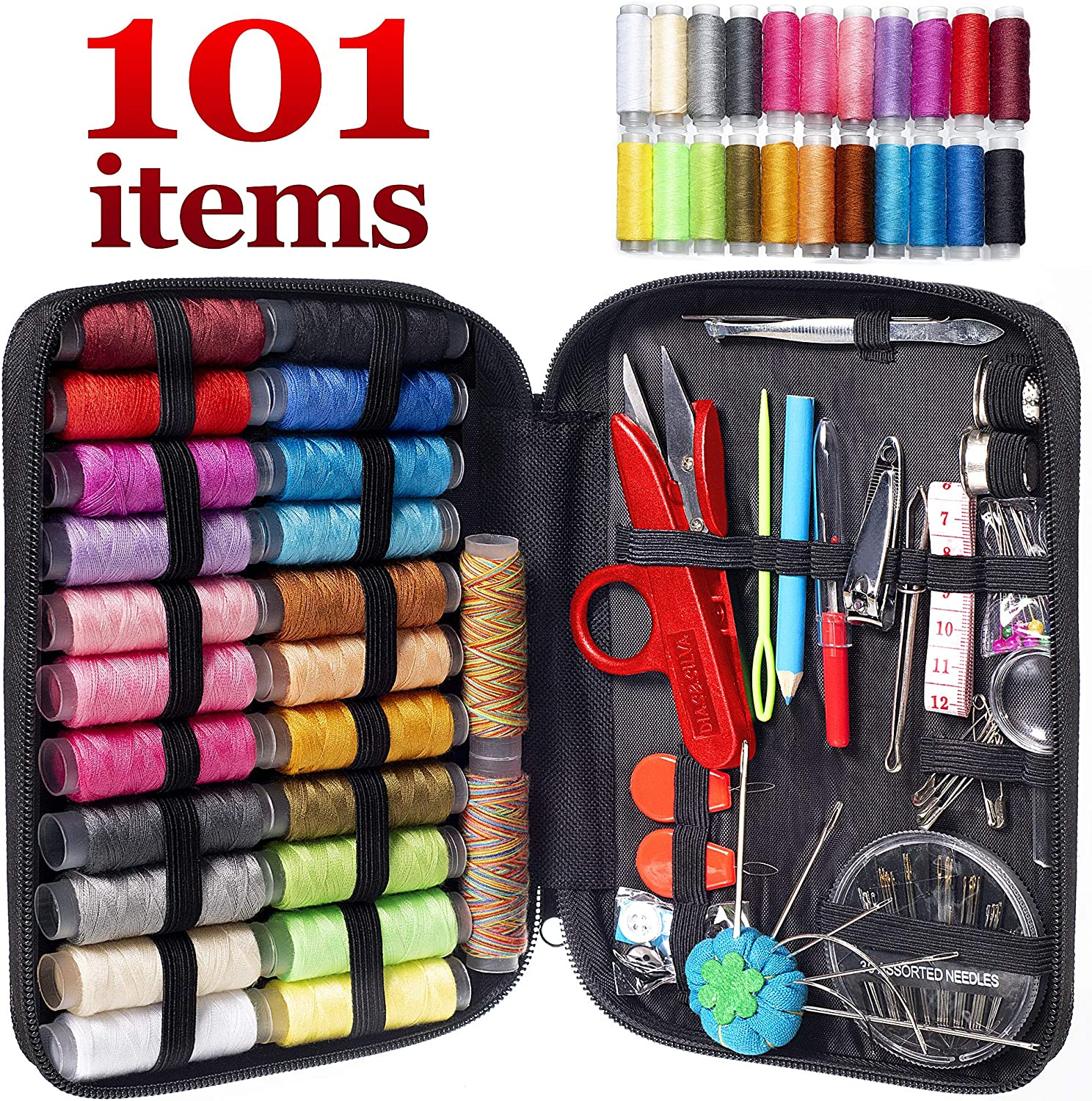 MYFOXI Kit for Adults, Kids, Home, Travel, Sew repair