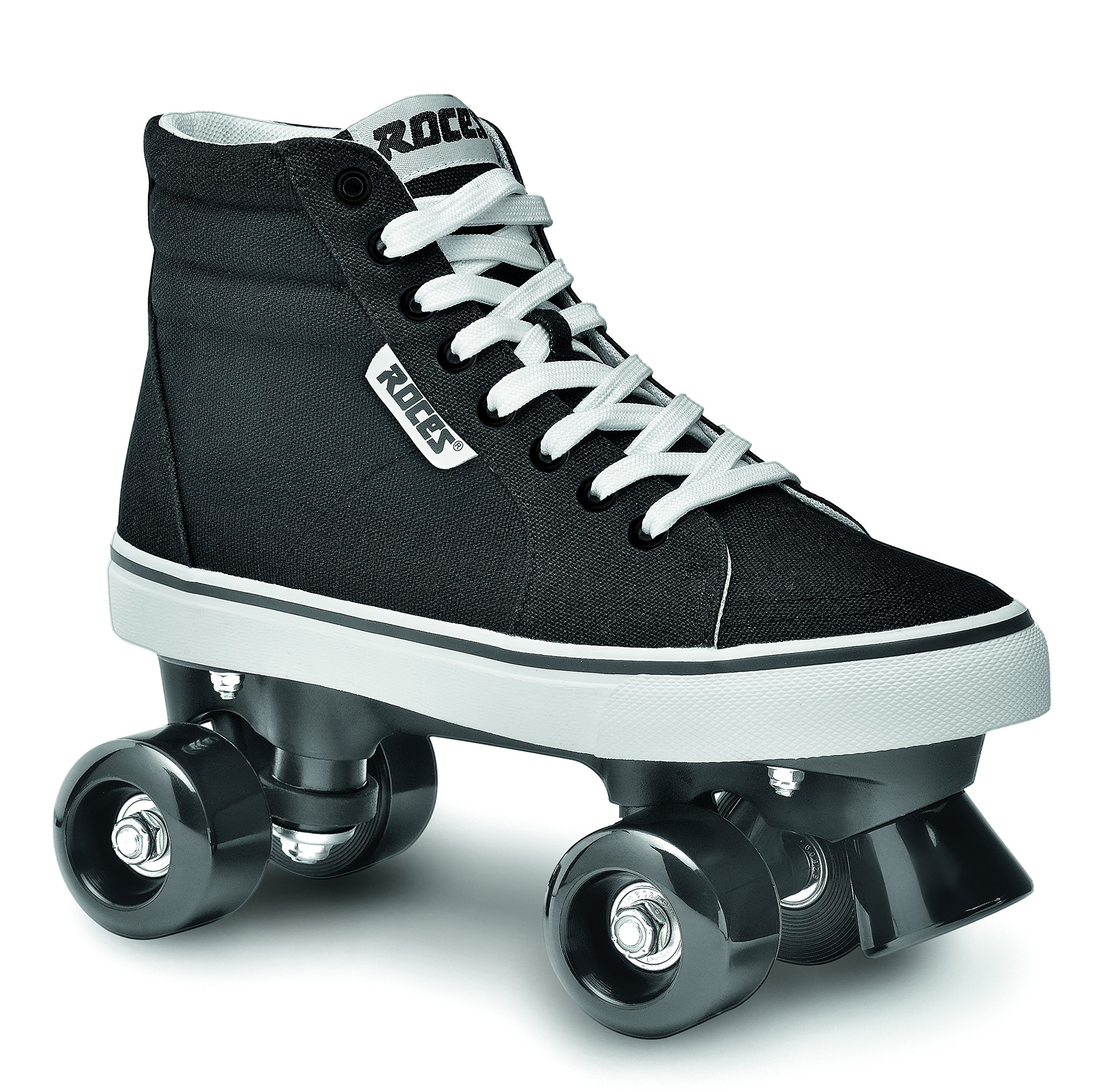 Roces 550030 Model Chuck Roller Skate,Black/White,9USW,7USM,40EU,6UK by Roces (Image #1)