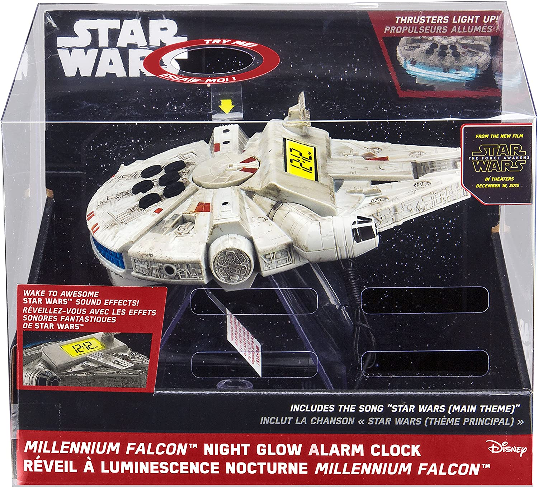 IHome UKW Radiodespertador Star Wars Millennium Falcon UKW Gris ...