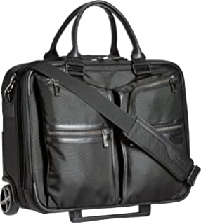 samsonite nylon 45 cms black soft sided laptop briefcase 16d 0 09 008