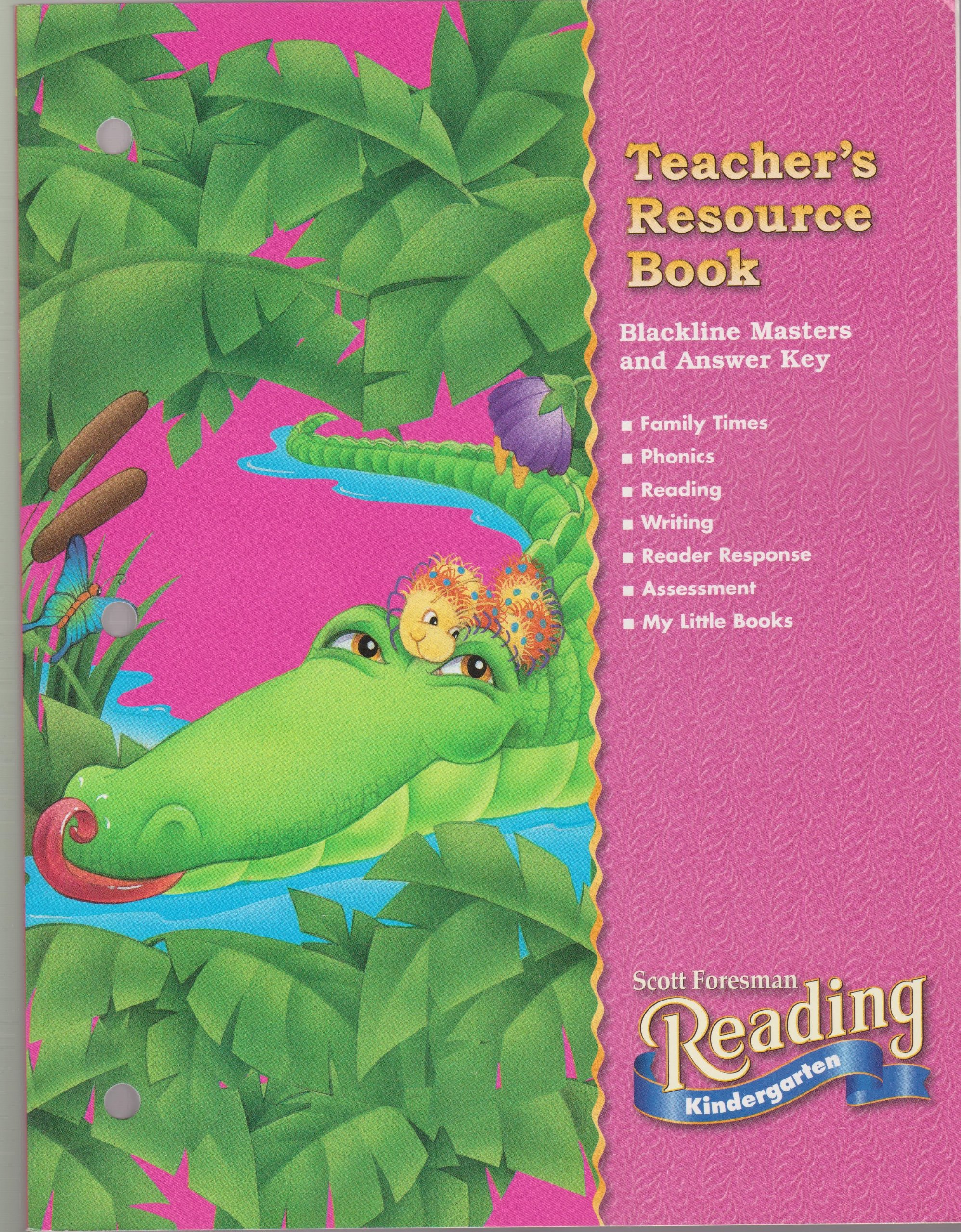Teacher's Resource Book(reading Kindergarten): Scott Foresman:  9780328040568: Amazon.com: Books