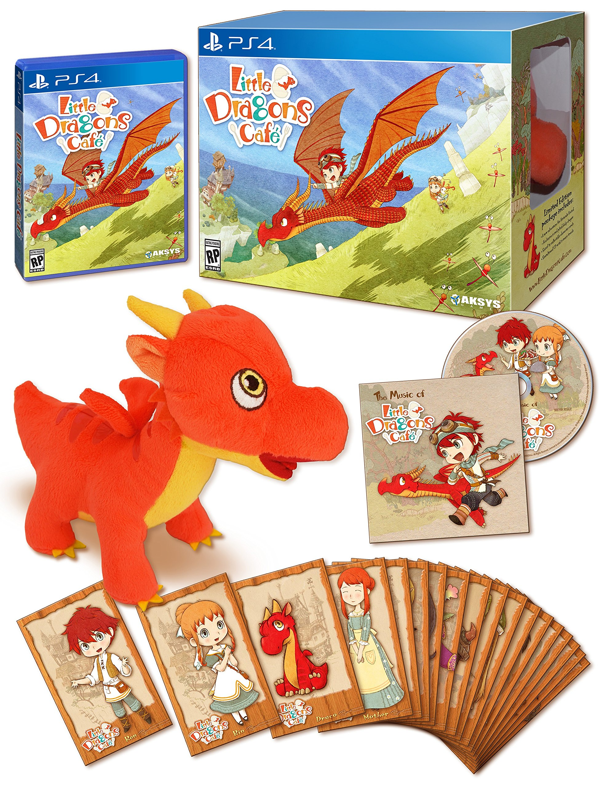 Little Dragons Cafe Limited Edition - PlayStation 4