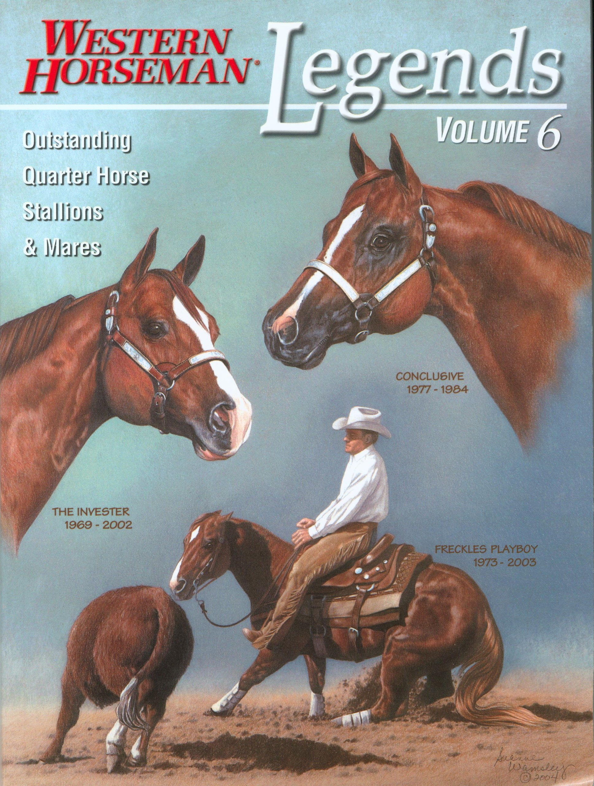 Legends (Western Horseman) (Volume 6)