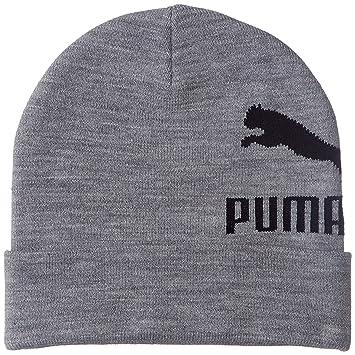6a00d5094b Puma Archive Logo Beanie Bonnet Taille Unique Gris: Amazon.fr ...