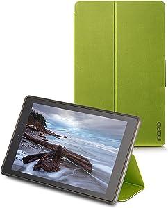 Incipio Clarion Folio Fire HD 10 Case (5th Generation - 2015 release), Citron Green
