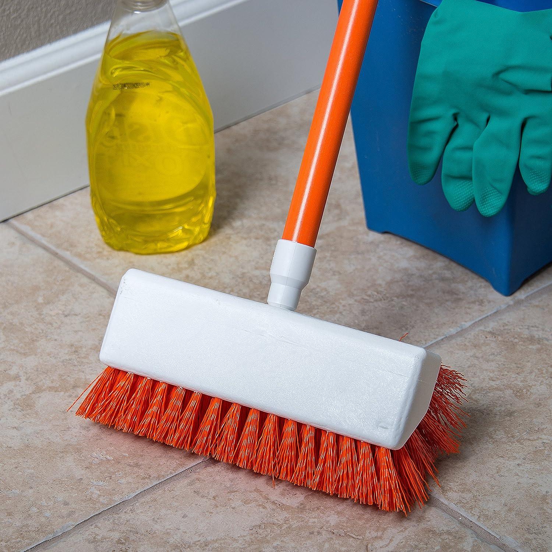 Blue Carlisle 4042314 Hi-Lo Floor Scrub Brush Pack of 12