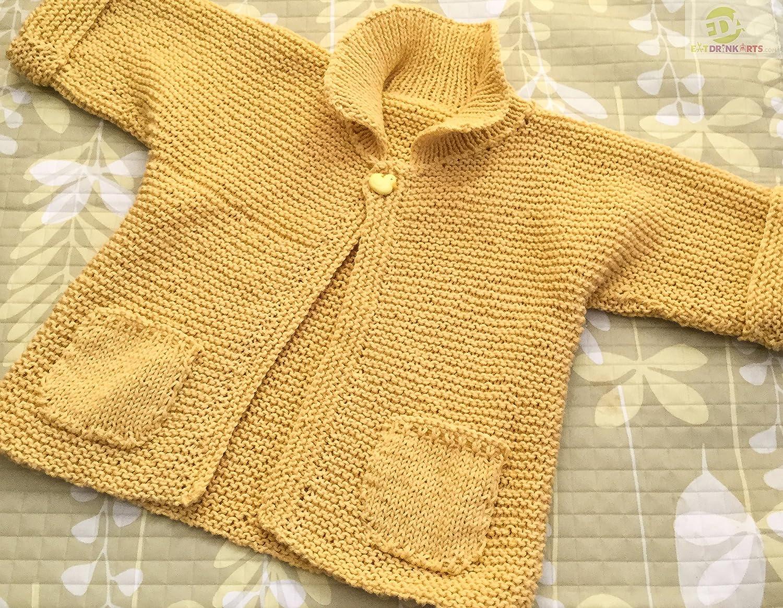 Hoodie sweater merino sweater baby sweater knit sweater grey and blue sweater chicken sweater baby shower new baby MADE TO ORDER