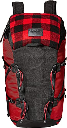 Diesel Men's Check Running Backpack
