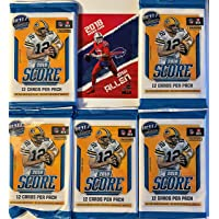 $28 » 5 Factory Sealed 2018 Panini SCORE Football Cards with 12 Cards Per Pack - Chase JOSH ALLEN, LAMAR JACKSON, BAKER MAYFIELD, SAQUON…