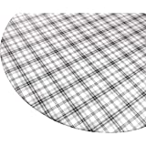 Amazon Com Fitted Vinyl Tablecloths 60 Inches Round