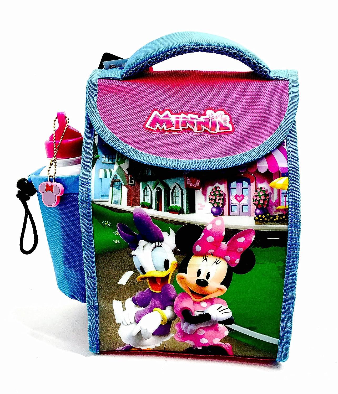 Disney's Minnie Mouse Deluxe Sac à déjeuner isotherme avec bouteille Catchy