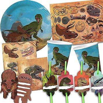 101 Juego de * dinosaurios * Fiesta de cumpleaños para niños ...