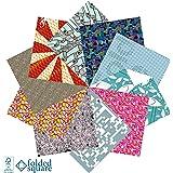 Set regalo di carta per origami da 100 fogli fantasia Designer (Collezione 2)