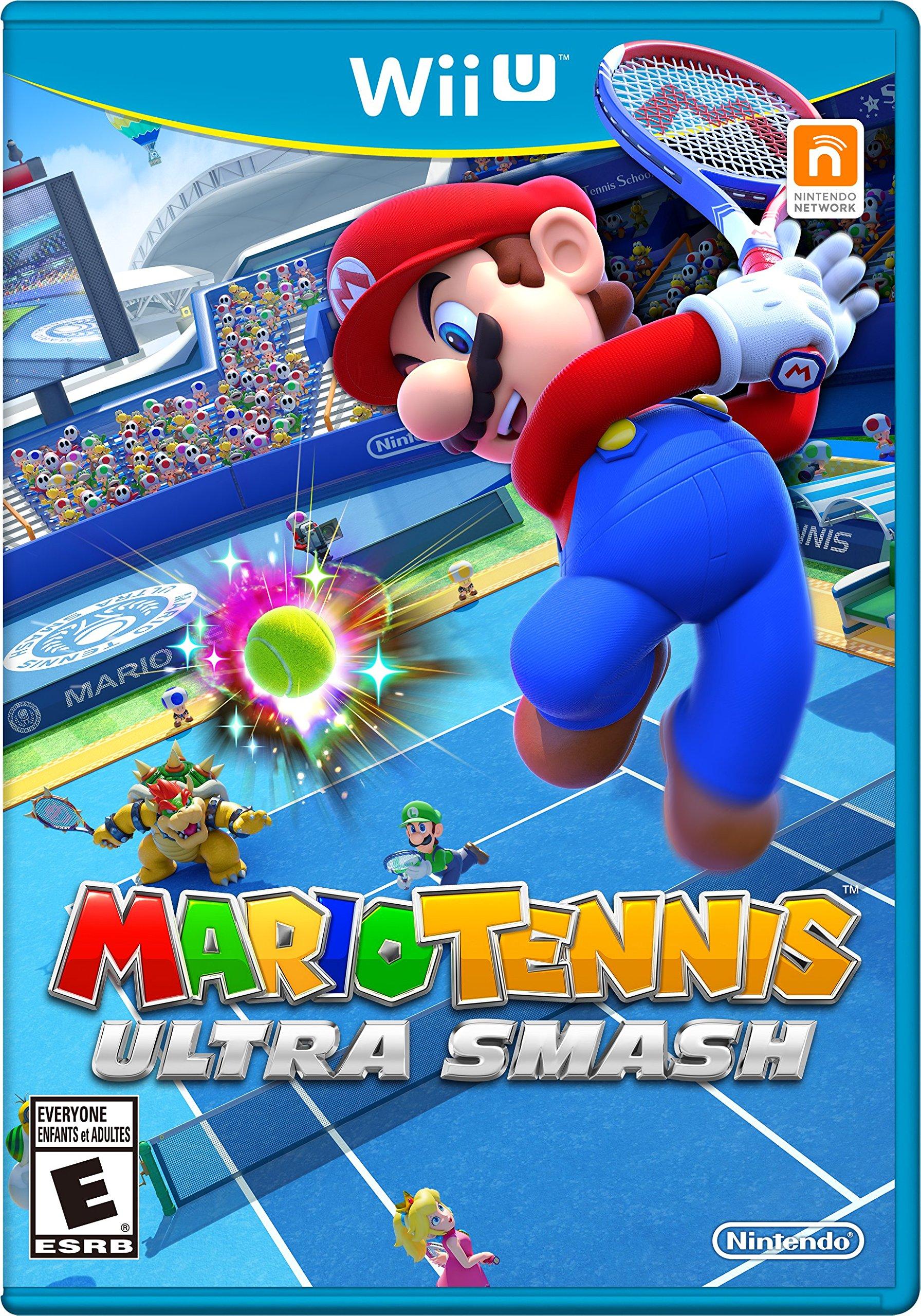 Mario Tennis:  Ultra Smash - Wii U [Digital Code]