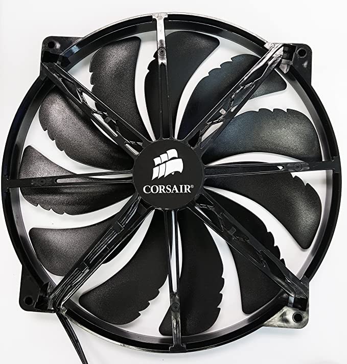 Corsair CC650D-200MM - Ventilador de PC (Ventilador, 28,8 dB ...