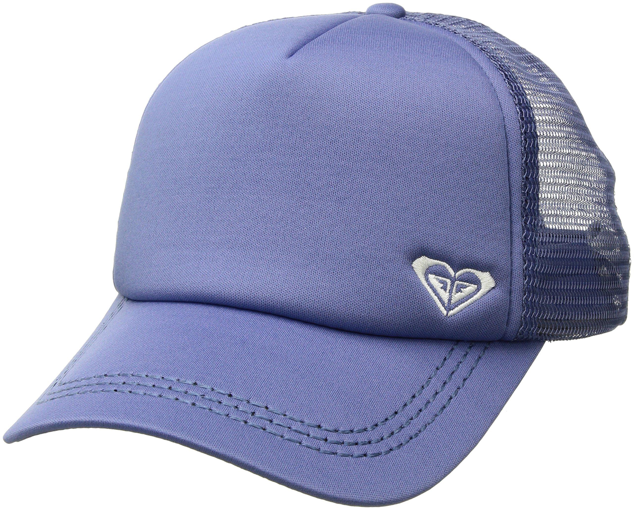 Roxy Women's Finishline Trucker Hat, bleached denim ERJHA03320 1SZ
