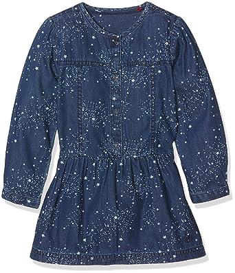 pick up good looking new list s.Oliver s.Oliver Mädchen Kleid 53.609.82.2593, Blau (Blue ...