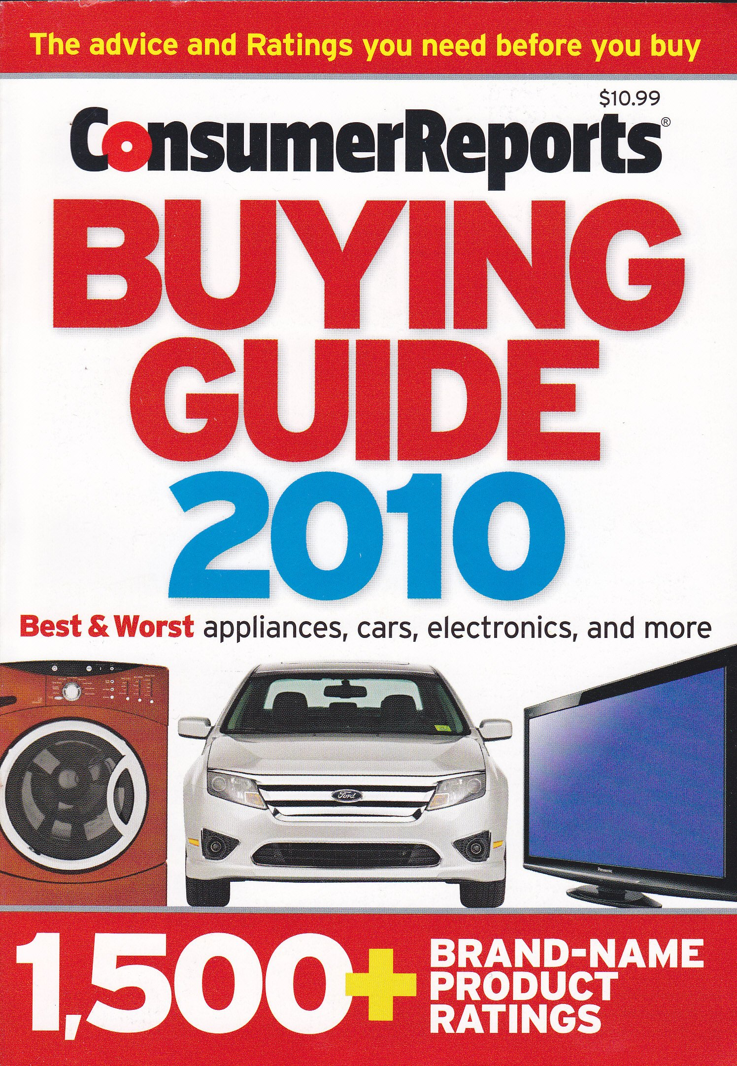 consumer reports buying guide 2010 best worst appliances cars rh amazon com Tesla Consumer Reports Car Buying Guide 2014