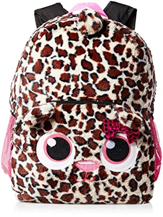 Amazon.com | Accessories 22 Girl's Plush Critter Backpack Cheetah ...