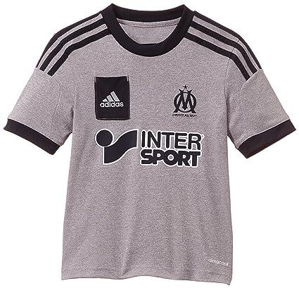 adidas Olympique Marseille Replica Spieler-Auswärts - Camiseta, Color Gris (Light Onix/