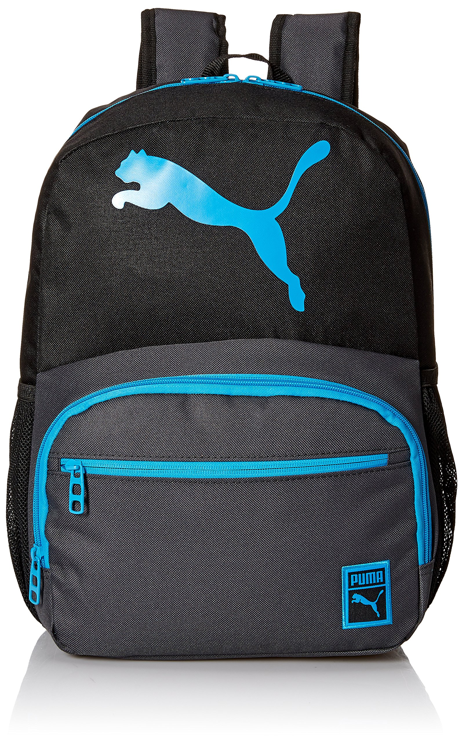 21aed2d8b5ce PUMA Little Boys' Backpacks and Lunch Boxes, Backpack Black/Blue, Youth