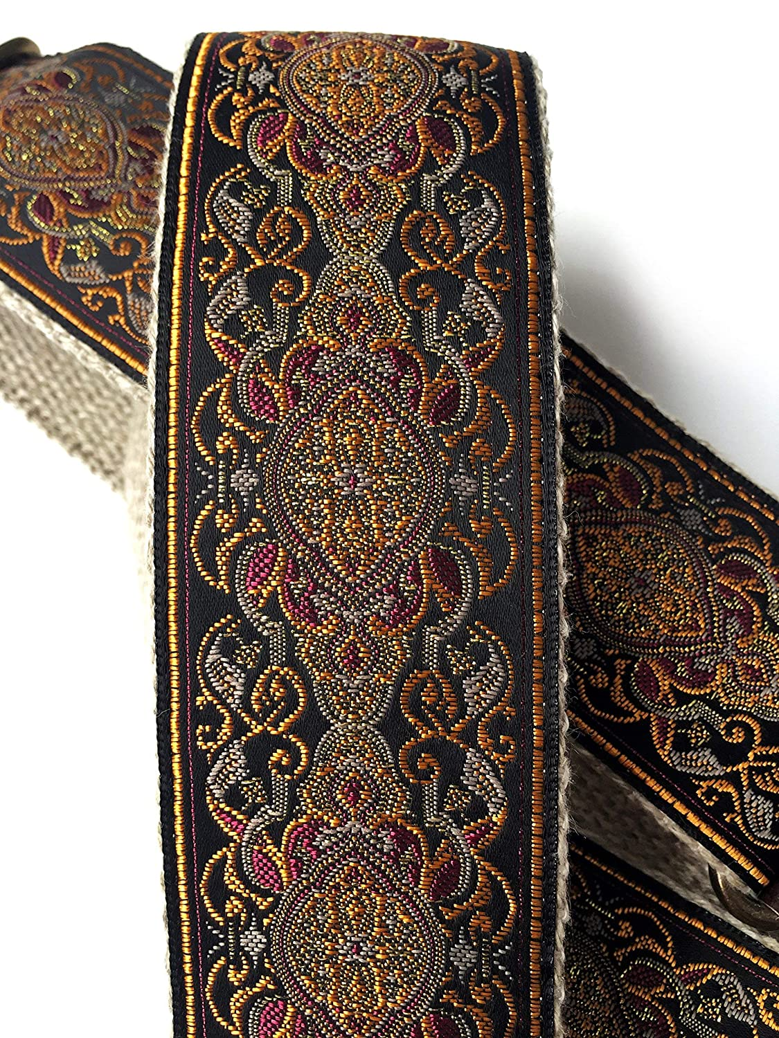 The Jupiter Guitar Strap by Native Sons - Vintage style