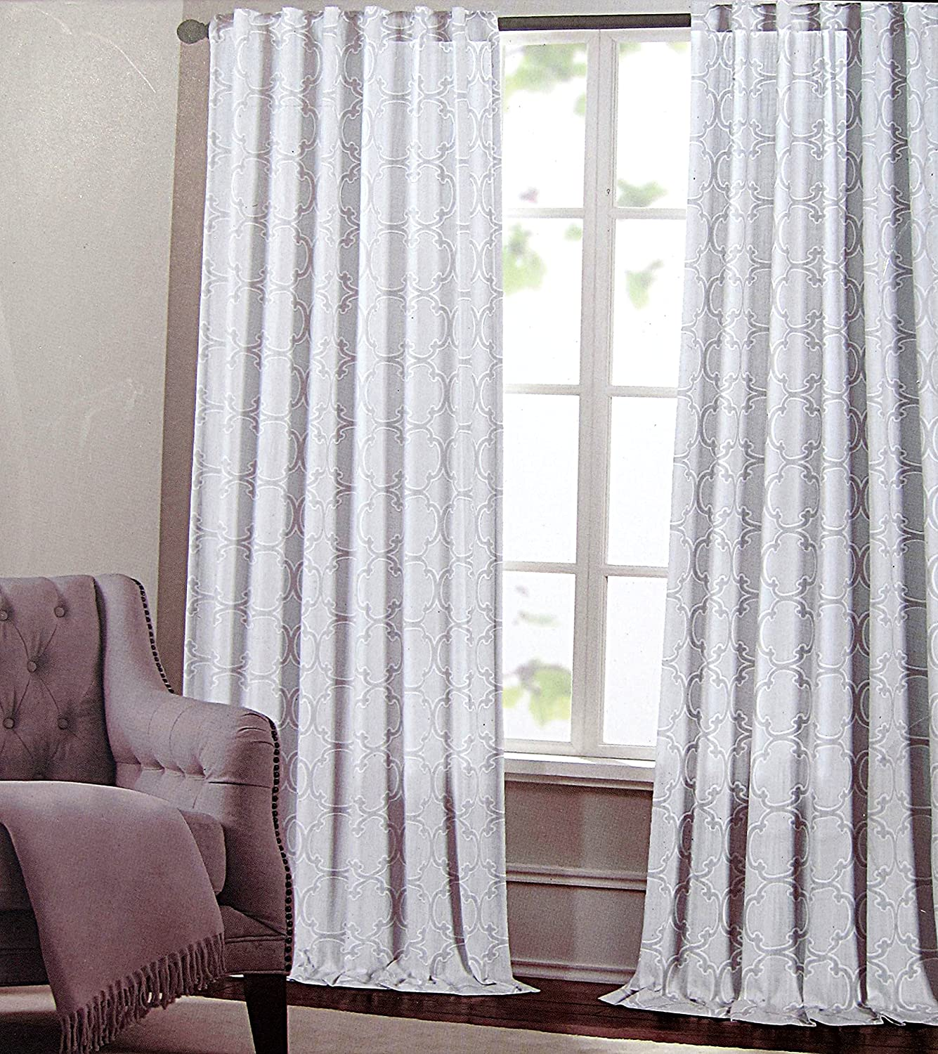 Amazon Max Studio Set of 2 Window Curtains Panels Drapes