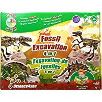 Science4you Fossil Excavation 4 in 1