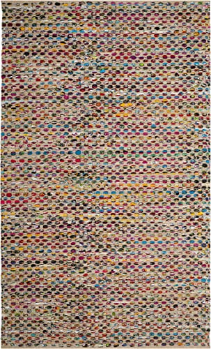 Safavieh Cape Cod Collection Area Rug, 6 x 9 , Natural Multi