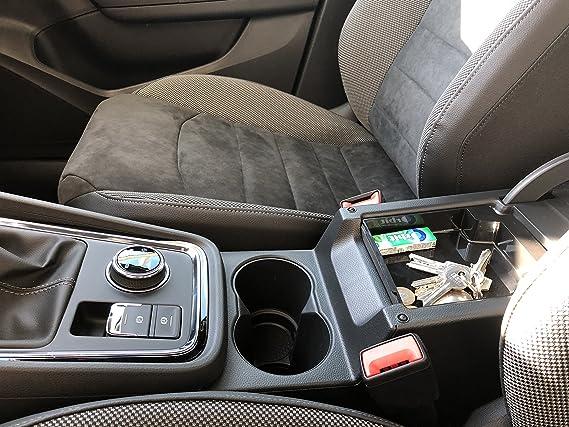 Tray Storage Box Innen Mittelarmlehne Handschuhfach Armlehne Organizer Mittelkonsole Aufbewahrungsbox f/ür Seat Alhambra
