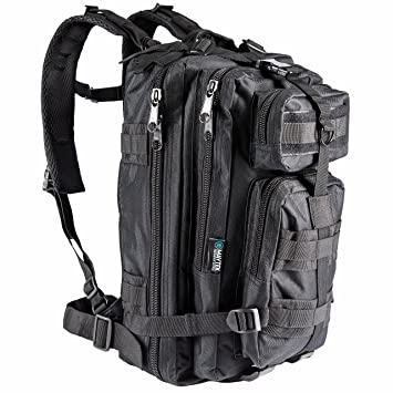 Amazon.com : Tactical Military Small Backpack Travel Water ...