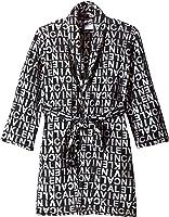 Calvin Klein Boys' Printed Plush Robe