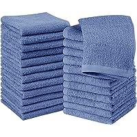 Utopia Towels– Set med tvättdukar i 24 bomull – 30 x 30 cm, Salviagrön – 100% Ringspunnen Bomull, Premium Kvalitet…