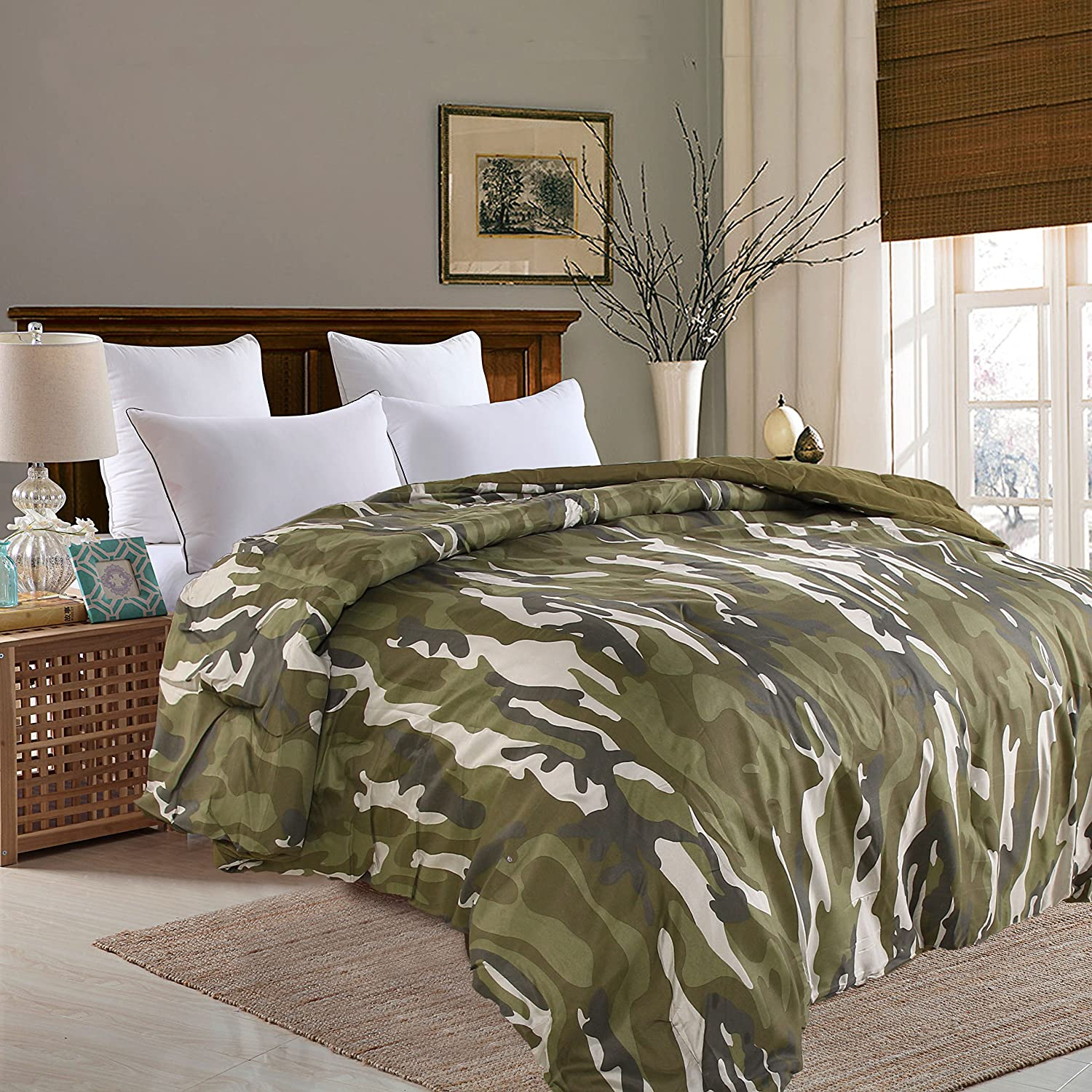 Eastend Home Fashions Jungle Print Comforter, Full